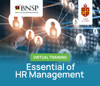HR Manager Virtual Training (Certified BNSP)
