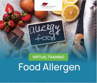 Food Allergen Virtual Training Batch 1 - 2021