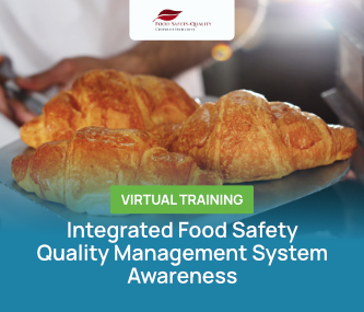 Integrated Food Safety-Quality Management System Awareness (IFSQMS) Virtual Training Batch 1 - 2021