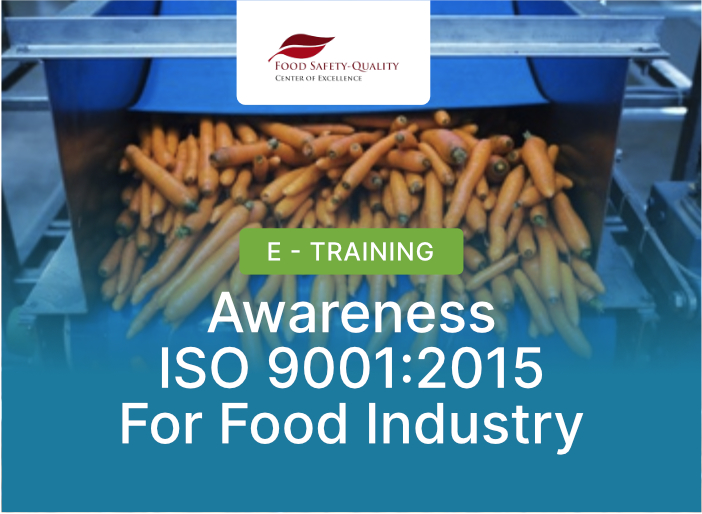 Awareness ISO 9001:2015 For Food Industry Batch 1 - 2021