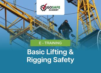 E-Training Basic Lifting & Rigging Safety