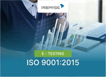 E-Testing ISO 9001:2015