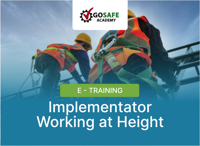 E-Training Implementator Working at Height
