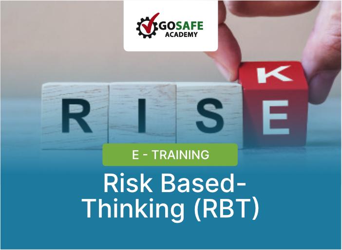 E-Training Risk Based-Thinking (RBT)