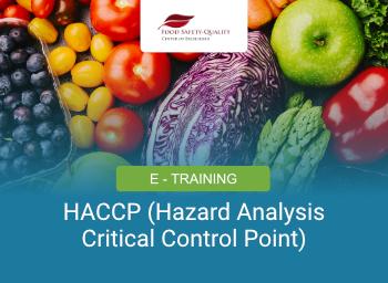 E-Training HACCP (Hazard Analysis Critical Control Point)